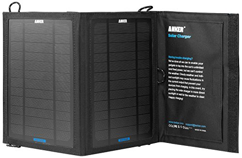 Anker 8W Single-Port Portable Foldable Outdoor Solar Charger