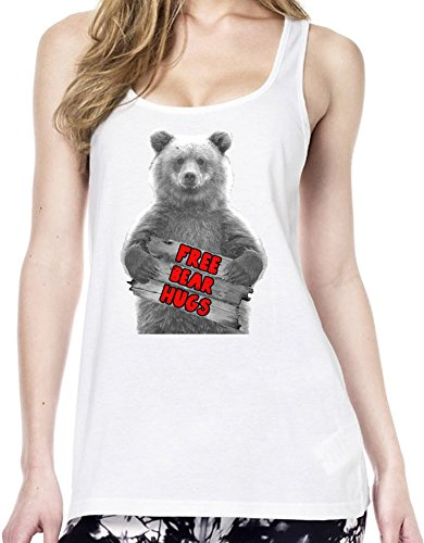 Free Bear Hugs Tunica delle donne Large