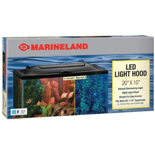 Marineland LED Aquarium Hood 20 by 10
