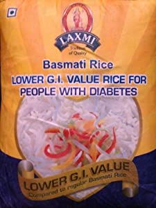 Laxmi Basmati Rice (Lower Glycemic Index Value Rice for Diabetics) 10lb