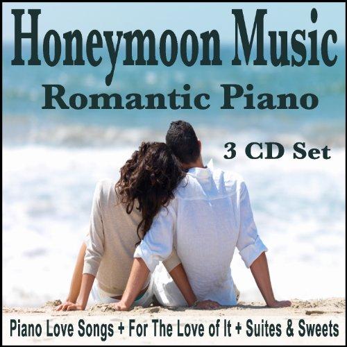 Honeymoon music cd set romantic piano for honeymoons