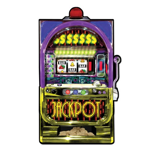 Slot Machine Cutout Party Accessory (1 count)