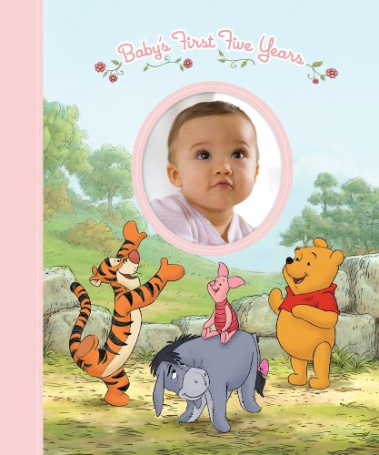 Disney Winnie the Pooh: Baby's First Five Years (Keepsake Record Book and Storage Box for Baby Girl), Editors of Publications International LTD