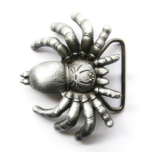 Hogar Mens Mens Zinic Alloy 3D Belt Buckle Spider Buckles Color Antique Silver