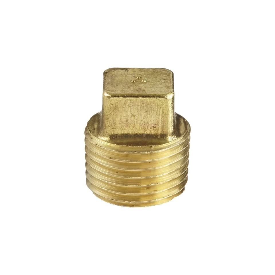 Anderson Metals Corp 56109 08 Brass Pipe Plug 1/2