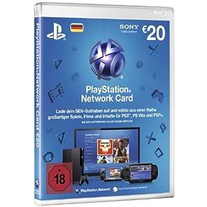 20€ PlayStation Network Card