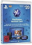 PlayStation Network Card 20  [Guthabenkarte für deutsches PSN-Konto]