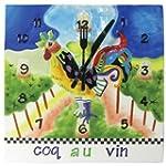 9 Inch Coq Au Vin Decorated Collectib...