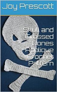 Skull and Crossed Bones Applique Crochet Pattern from Joy Prescott LLC