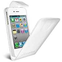 Amzer® Flip Case For IPhone 4 And IPhone 4S | White