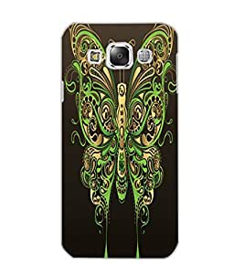 SAMSUNG GALAXY E5 BUTTERFLY Back Cover by PRINTSWAG