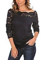 La Bella Donna Camiseta Manga Larga Patricia (Azul Oscuro)