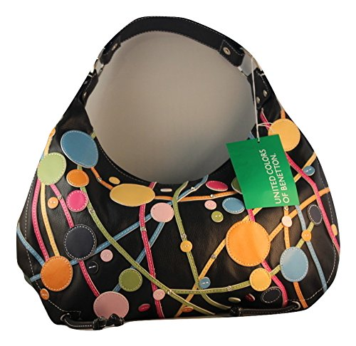 United Benetton di colori con borsetta tempestati di carnevale