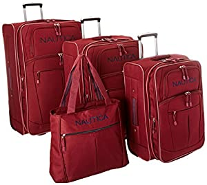 Nautica Luggage Helmsman 4 Piece Set