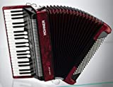 HOHNER BRAVO III 120 RED Accordions Piano type