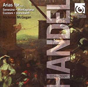Handel: Arias for Senesino, Montagnana, Cuzzoni, Durastanti