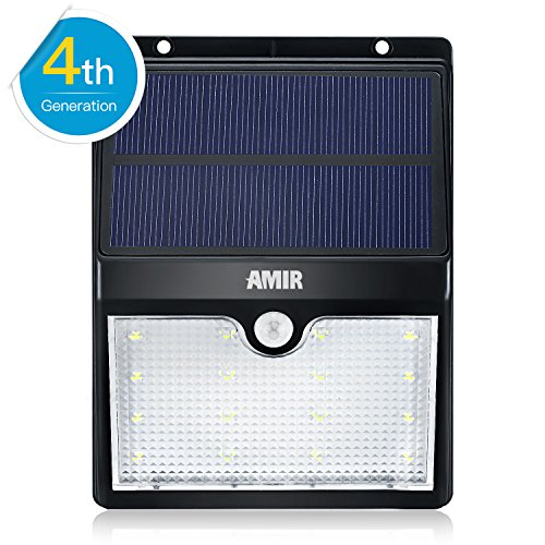 Amir Solar Motion Sensor Lights