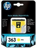 HP 363 Cartouche d'encre d'origine 1 x jaune 490 pages emballage coque avec électromagnétique