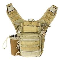Drago Gear Ambi Shoulder Pack Tan