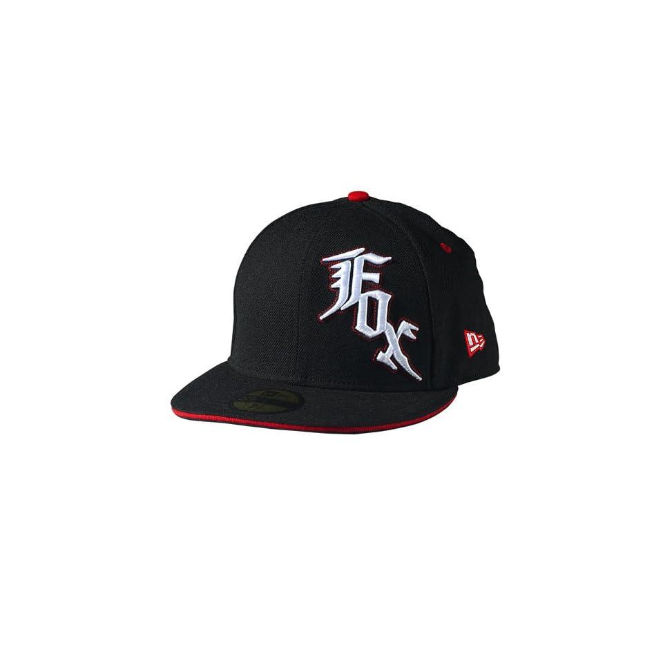 Fox Racing Street Star New Era Hat 7 1 8  Black Red on PopScreen 7dc3a745ef6a