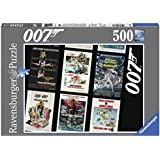Ravensburger James Bond 007 Retro Puzzle (500-Piece)