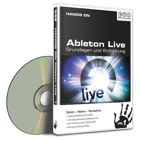 Hands on Ableton Live Vol. 1 - Grundlagen und Einführung (DVD-ROM) (PC + MAC)