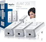 Devolo dLAN 200 AV Plus Network Kit - Pack of 3 Plugs