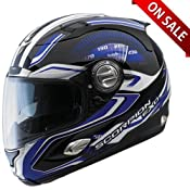 Amazon.com: Scorpion Helmets - Scorpion EXO1000 RPM Helmet Blue: Automotive