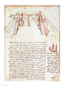 Leonardo da vinci sistema di carrucole per la for Elenco per la costruzione di una casa