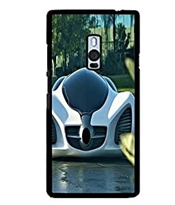 printtech Superfast Car Back Case Cover for One Plus Two::One Plus 2::One+2