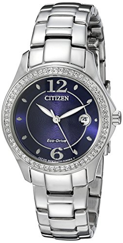 Citizen Eco-Drive Women's FE1140-86L Silhouette Crystal Watch