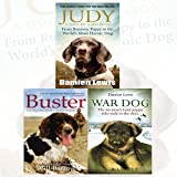 img - for Judy, Buster and War Dogs 3 Books Bundle Collection (Judy: A Dog in a Million, Buster: The dog who saved a thousand lives[Hardcover],War Dog: The no-man's-land puppy who took to the skies) book / textbook / text book