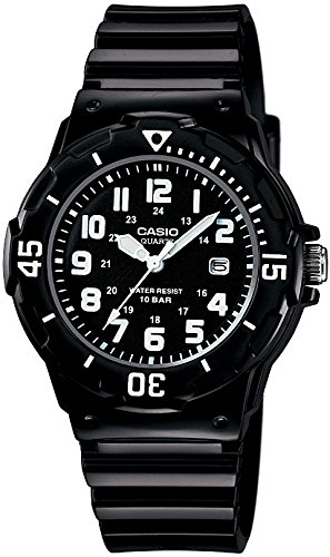 [CASIO] CASIO watch standard analog display 10 ATM water resistant black X black LRW-200H-1BJF
