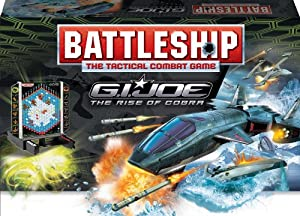 G.I. Joe The Rise of Cobra Battleship Game