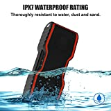 Wireless-Bluetooth-Lautsprecher-AOMAIS-Wasserdichter-IP67-Tragbarer-Outdoor-Lautsprecher-mit-10w-Stereo-Subwoofer-Bluetooth-40-Mini-Lautsprecher-fr-SmartphoneiPodMP3iPadLaptopPCOrange