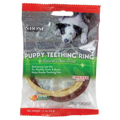 N-Bone Puppy Teething Ring, 1-Pack