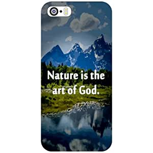 I Phone 5S Nature Beauty Matte Finish Phone Cover - Matte Finish Phone Cover