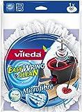 Vileda 134302 EasyWring & Clean Wischmop Ersatzbezug - mit der Reinigungskraft der Microfaser für strahlend saubere Böden - bekannt aus TV