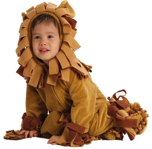 Baby Shaggy Infant Toddler Lion Costume size - Infant 12-24M