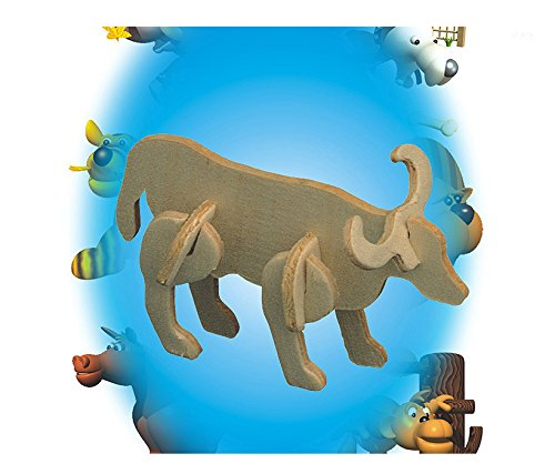 Puzzled 3D Mini Bull Party Pack (12 Units)