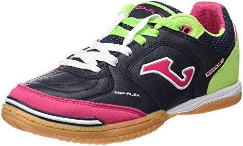 Joma-Top-Flex-603-Marino-fluor-fucsia-Indoor-Chaussures-de-foot-en-salle-homme