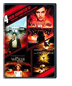 4 Film Favorites: Fantasy Thrillers (Constantine, The Fountain, V for Vendetta, The Wicker Man)