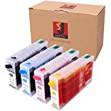 Generic Refillable Ink Cartridge for Epson WorkForce Pro WP-4010 4020 4023 4090 4520 4530 4533 4540 4590 Printer Ink Cartridge Model T676XL