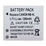 BestDealUK Lithium Ion Digital Cameras Replacement Battery For Canon Digital Ixus 40