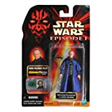 Star Wars Episode 1 The Phantom Menace CommTech Series 4 Inch Tall Action Figure - SENATOR PALPATINE With Senate...