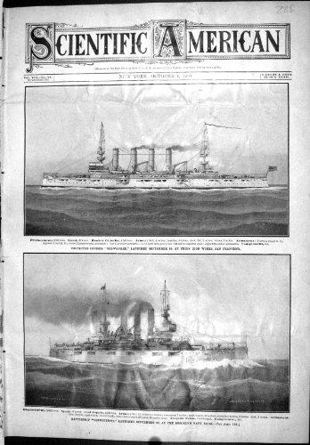old-original-antique-victorian-print-cruiser-ship-milwaukee-francisco-connecticut-brooklyn-scientifi