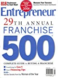 img - for Entrepreneur, 29Th Annual Franchise 500,January 2008 Issue book / textbook / text book