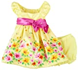 Young Hearts Baby-Girls Infant 2 Piece Floral Dress Set