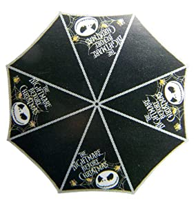 Nightmare Before Christmas Folding Umbrella: Amazon.co.uk: Luggage