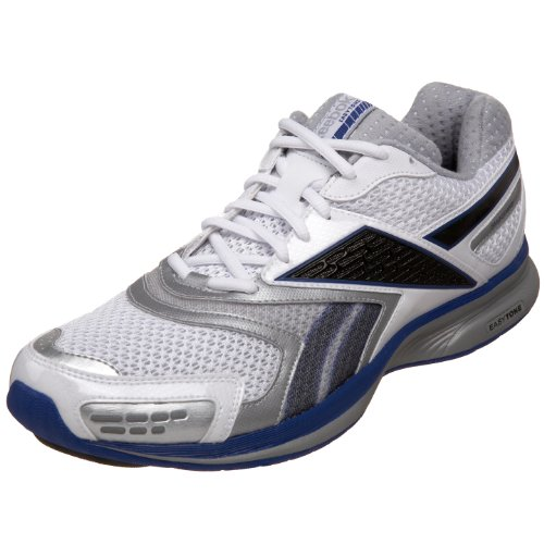 reebok s easytone stride walking shoe white